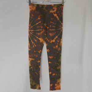 Sacred Threads Pant Legging Tye Dye Earth Colorful